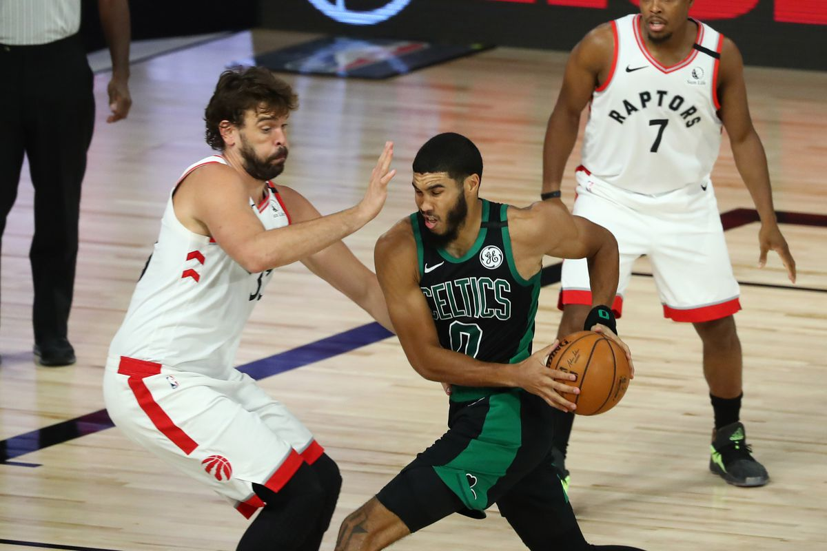 NBA Playoffs 2020 Recap: Raptors crumble in Game 1, lose to Boston 112-94 -  Raptors HQ