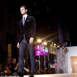 <em>Image via Express</em><br /><br />French designer Catherine Malandrino took in the Holiday 2011 collection from the front row.