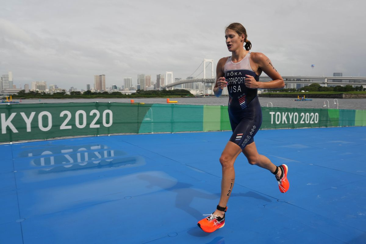Olympics: Triathlon-Womens Olympic Distance