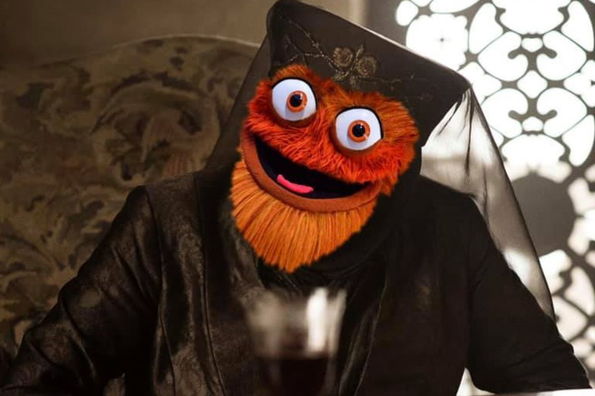 Gritty stars in a popular 2020 election meme.