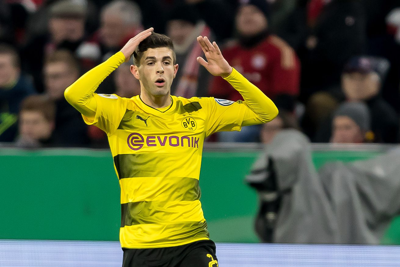 Report: Manchester United and Liverpool both interested in signing Christian Pulisic this summer