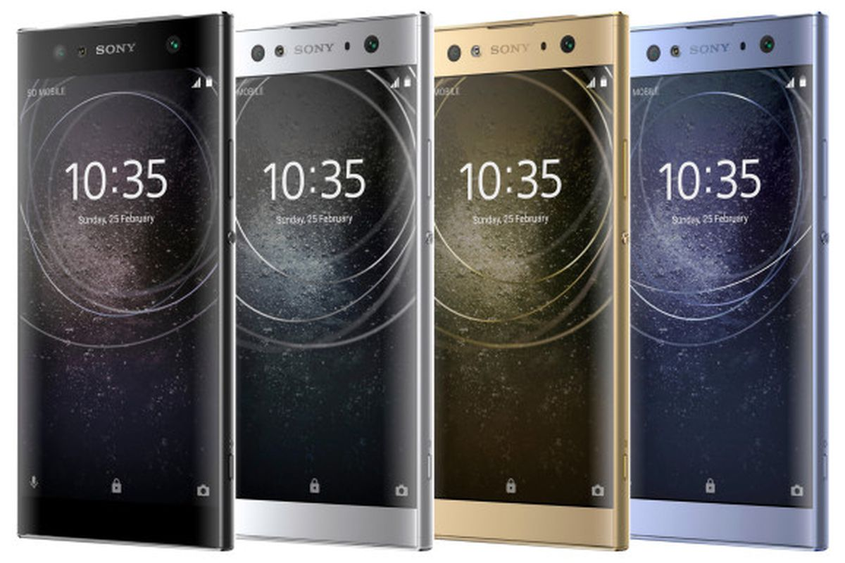 Sony Xperia XA2, XA2 Ultra, and L2 leaked images show off bezels