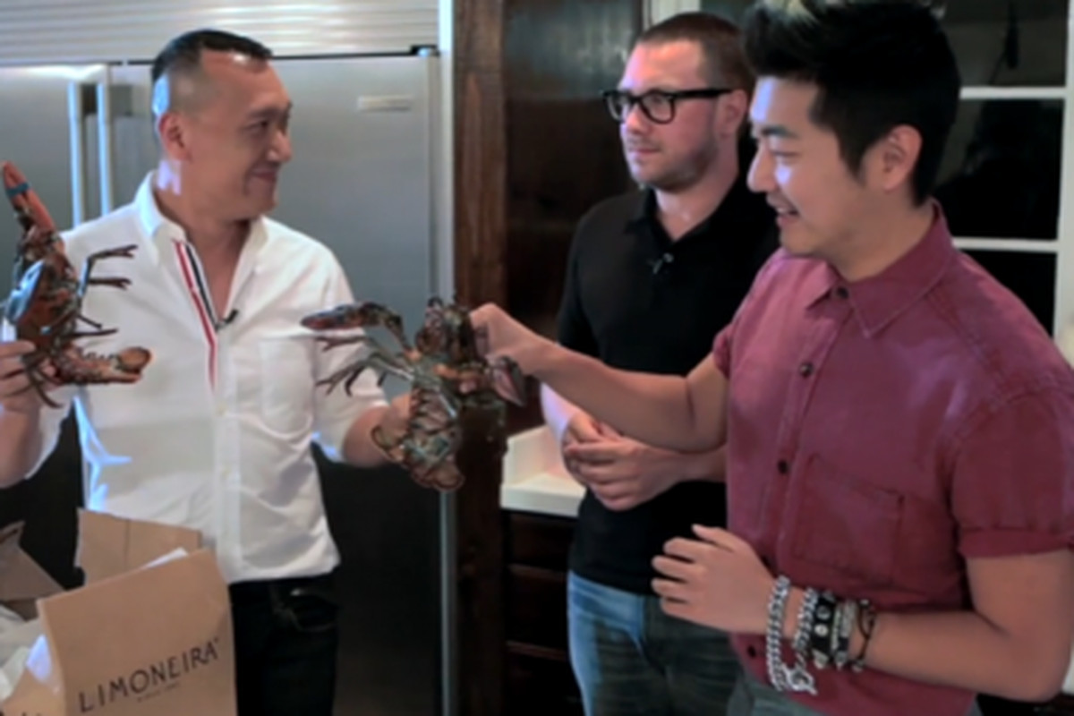 """What you'll find on Fashionista's Haute Cuisine video series, via <a href=""""http://fashionista.com/2012/09/the-fashionista-cooking-show-is-here-watch-joe-zee-make-lobster-rolls-in-the-first-episode-of-haute-cuisine/?utm_source=feedburner&amp;utm_medi"""