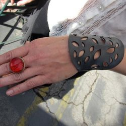 Jewelry from recycled bike parts! From Beatrice Holiday