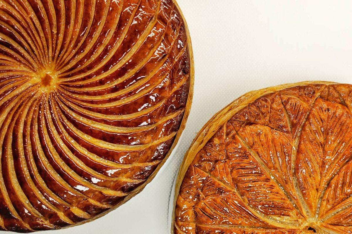 Two Michelin star London restaurant Hélène Darroze at The Connaught's annual Galette des Rois celebration sent Instagram wild