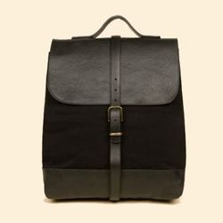 """<b>Steve Mono</b> Paul Mix backpack, <a href=""""http://www.openingceremony.us/products.asp?menuid=2&catid=24&designerid=230&productid=64258"""">$525</a> at Opening Ceremony"""
