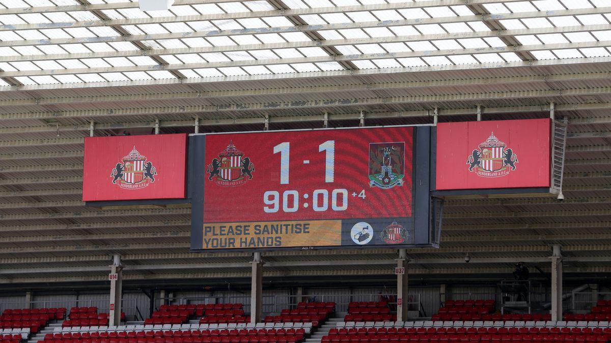 Sunderland v Northampton Town - Sky Bet League One - Stadium of Light