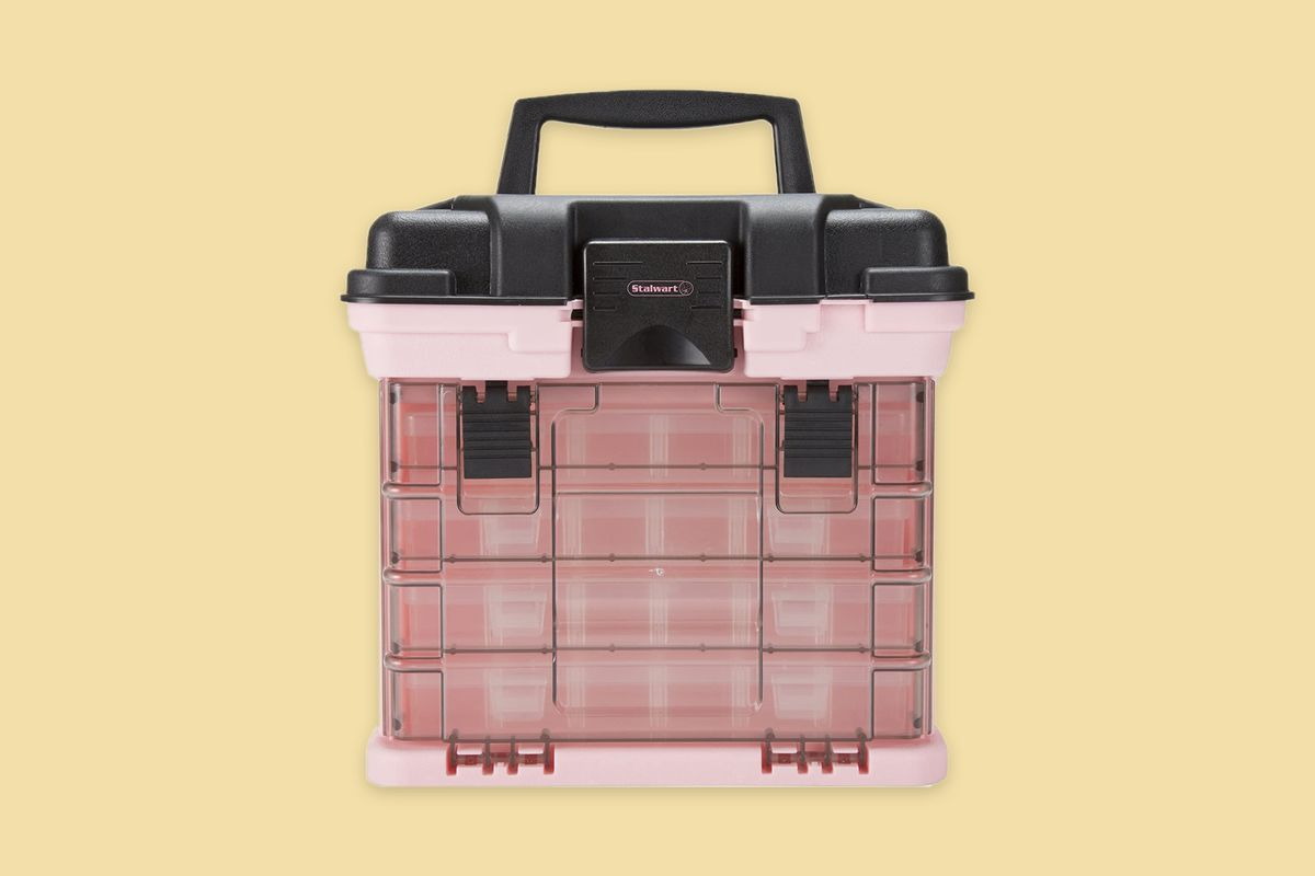 Stalwart Parts & Crafts Rack Style Tool Box Mother's Day 2020