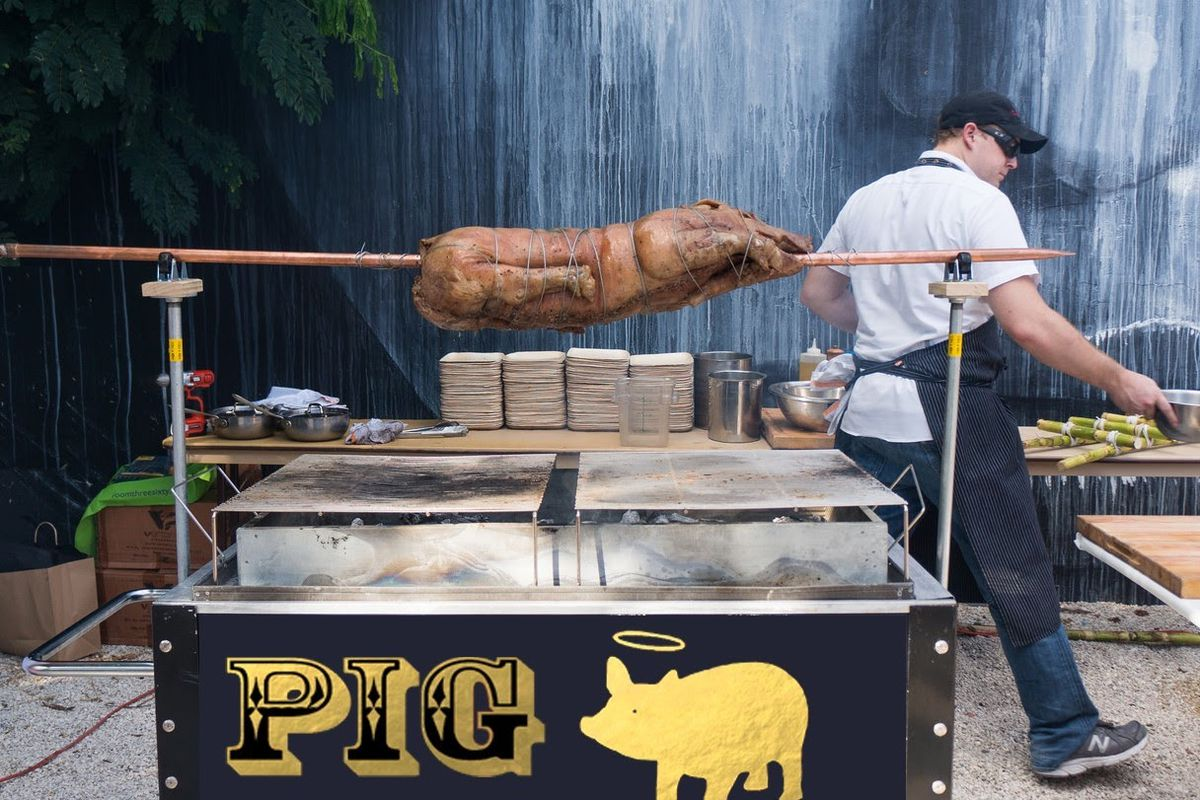 Here is What's On The Menu at P I G  8 - Eater Miami