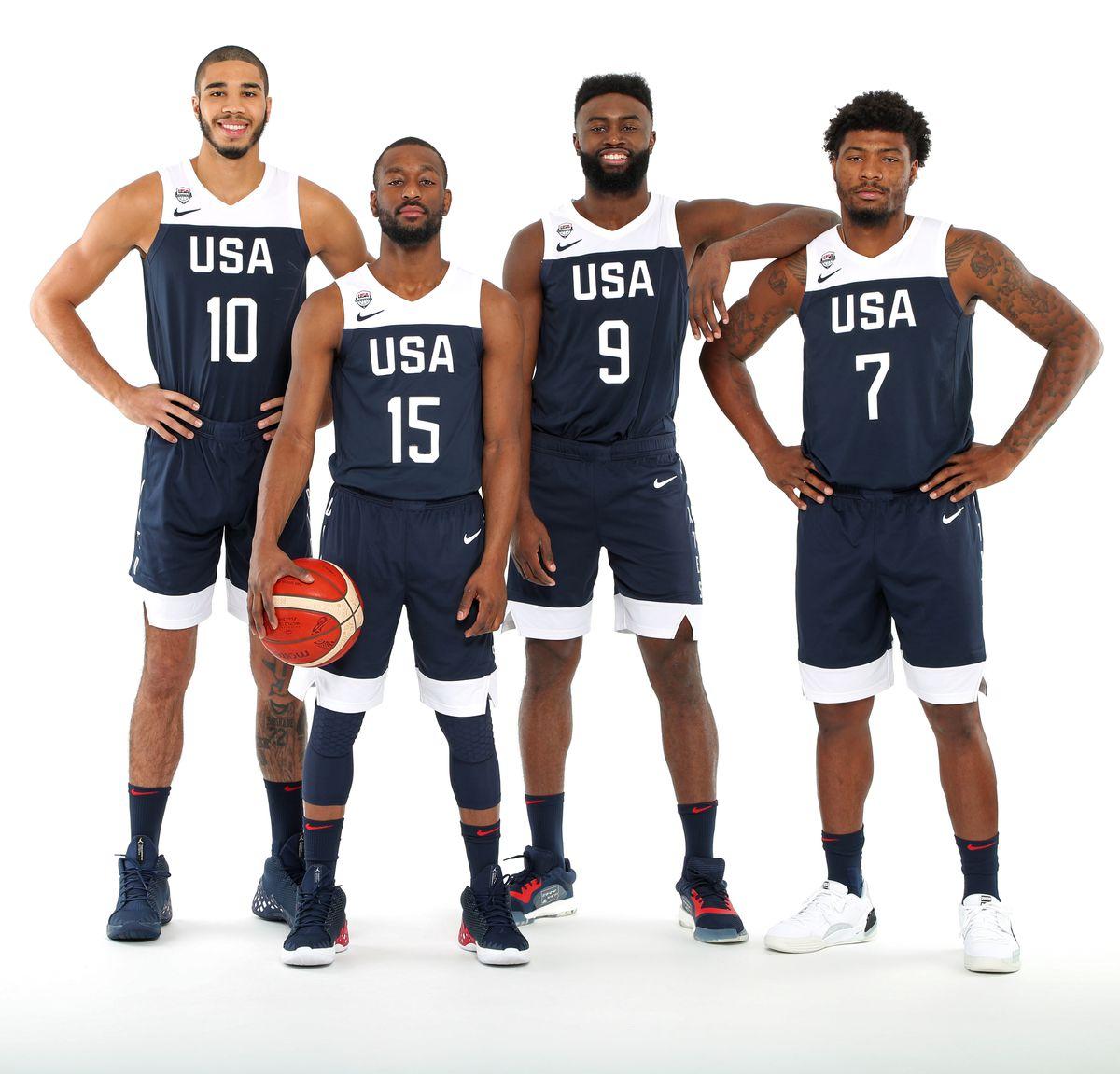 2019 USA Basketball Men's National Team - Portraits