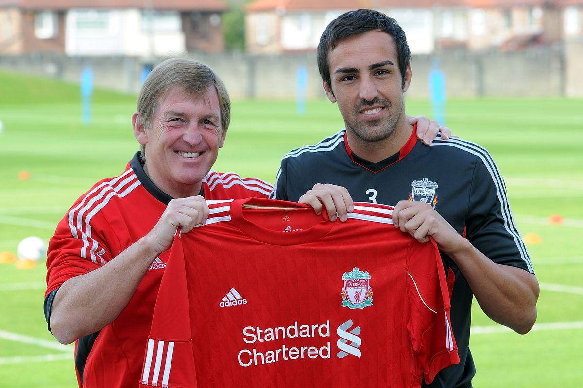 Liverpool FC Sign Jose Enrique