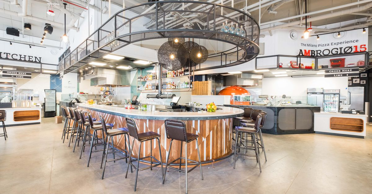 Tour Little Italy S New Food Hall Before It Opens Thursday