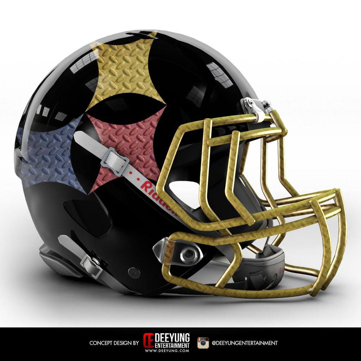 These concept nfl helmets feature massive futuristic - Dallas cowboys concept helmet ...