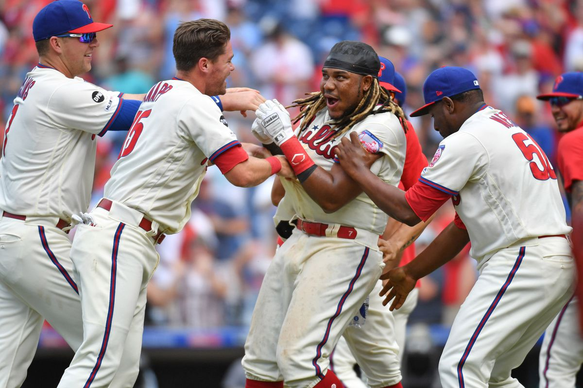 Despite their struggles, the Phillies are still in the wild