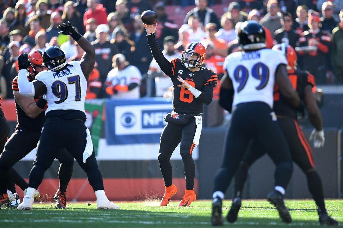 Baltimore Ravens vCleveland Browns