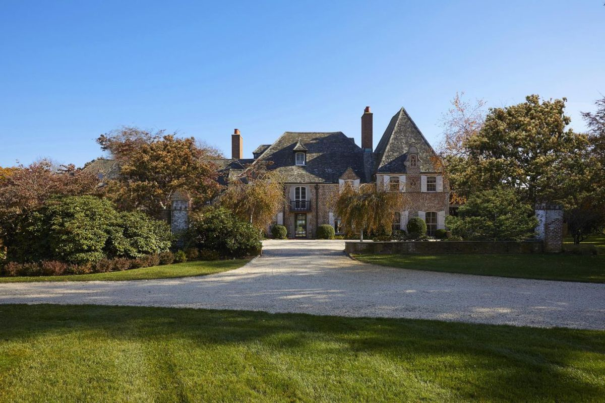 Southampton S Historic Normandy House On Comes Down 6m In Asking Price Curbed Hamptons