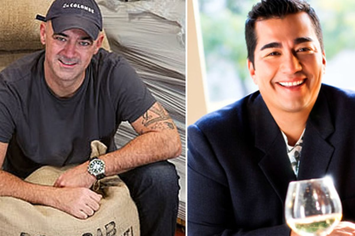 Todd Carmichael (left) and Jose Garces (right)