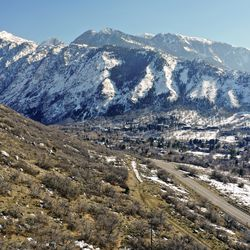 Utah Open Lands is trying to raise funds to preserve a 26-acre parcel of land, including a section of the Bonneville Shoreline Trail, and prevent development, near the mouth of Little Cottonwood Canyon in Cottonwood Heights, pictured on Friday, Feb. 21, 2020.