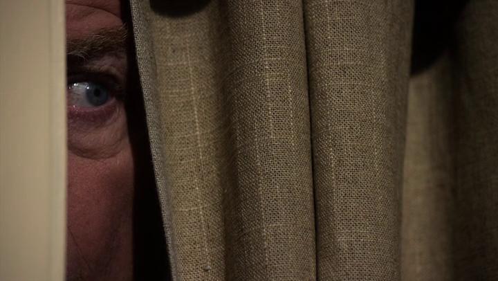 Chuck (Michael McKean) hides from his brother on Better Call Saul.