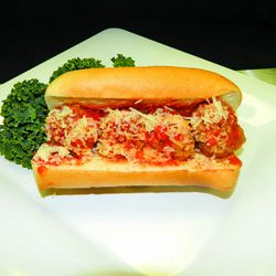 Meatball sandwich (Sections 121 and 522)