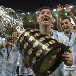 It's a big trophy