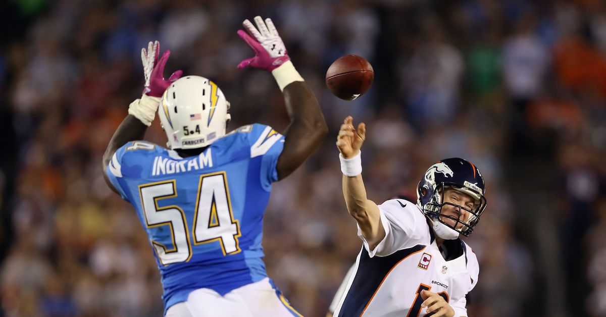 Greatest Broncos games of the 2010s: Broncos at Chargers, 10/15/2012