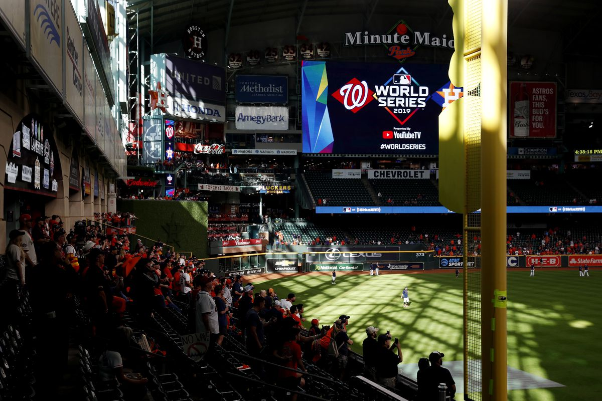 2019 World Series Game 2 - Washington Nationals v. Houston Astros