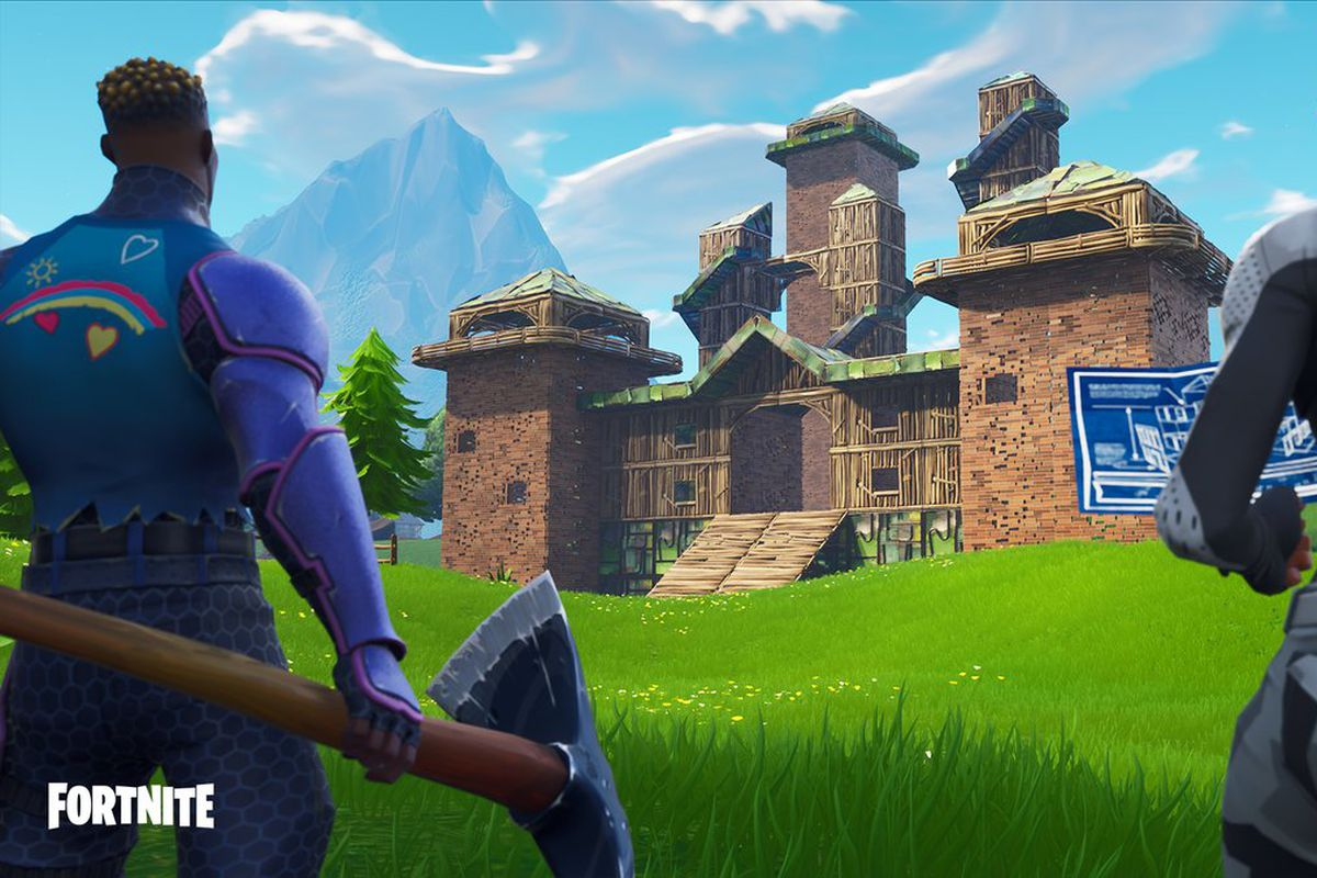 Image result for fortnite playground