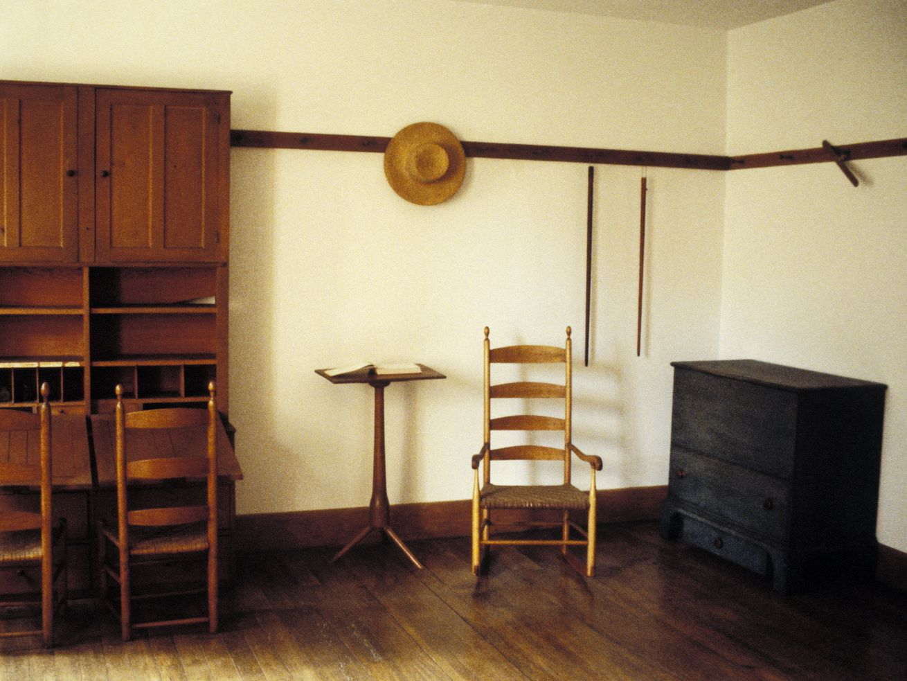 The Hancock Shaker Village preserves the craftsmanship and way of life of the utopian spiritual sect, which is known for its minimal and utilitarian furniture.