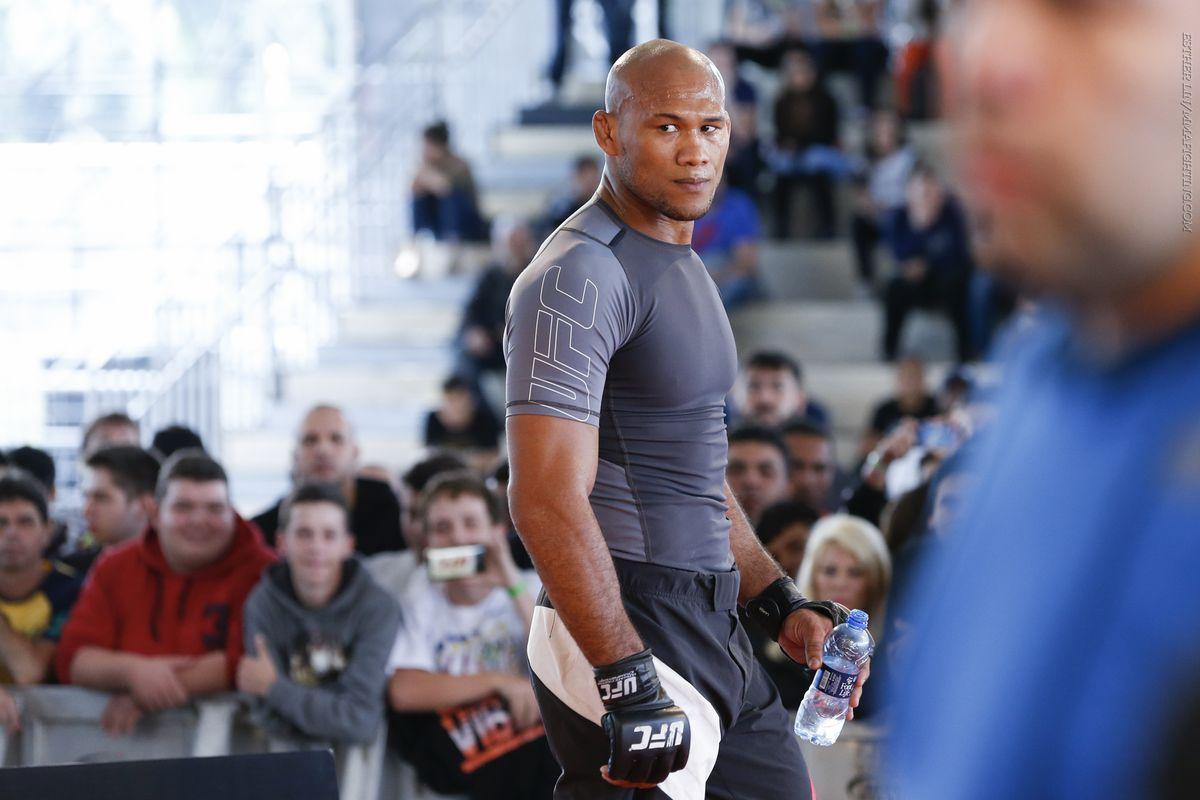 UFC 198 Open Workout Photos