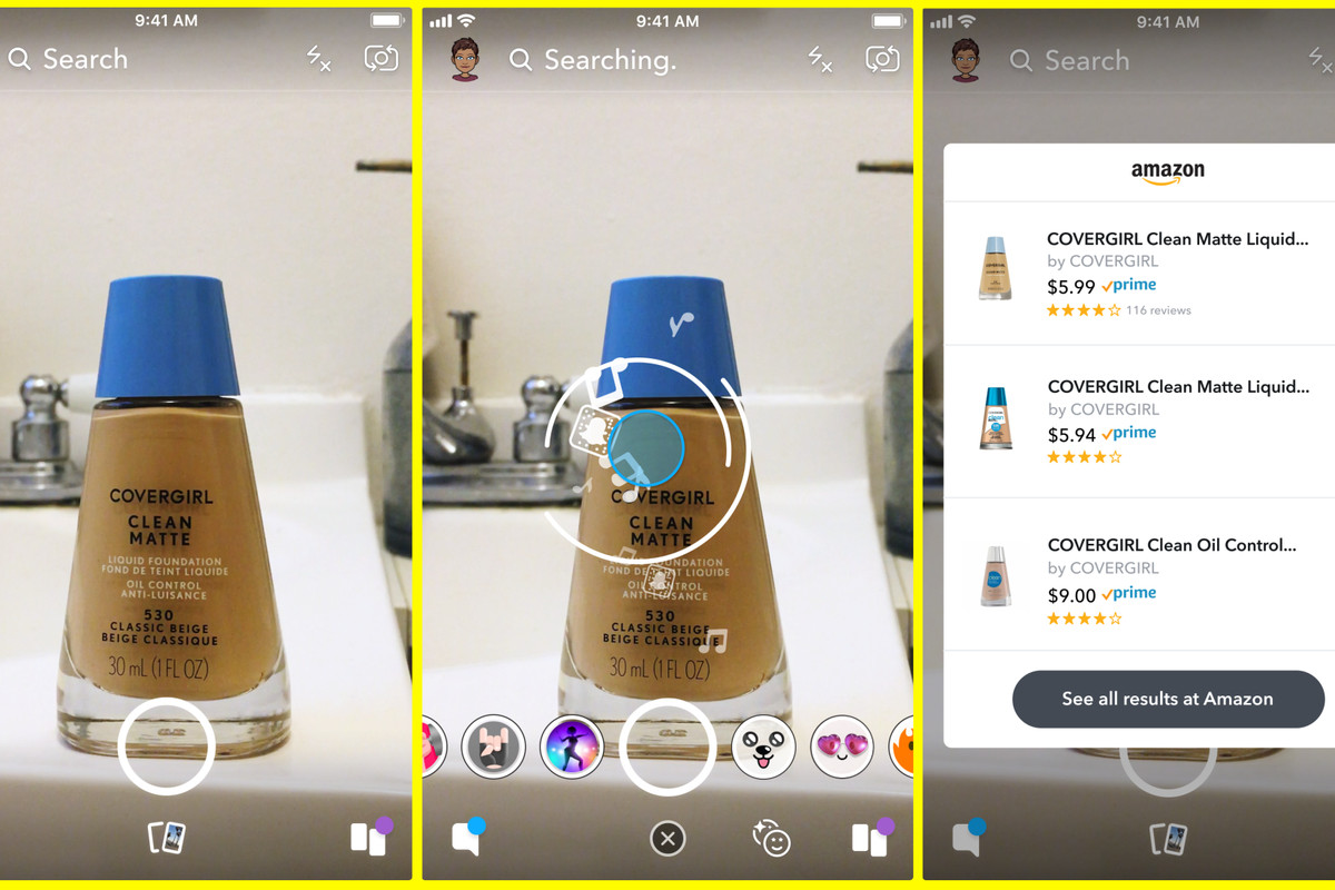 Snapchat is testing a camera feature that lets you easily