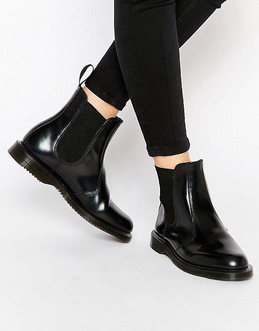 Dr. Martens Kensington Flora Chelsea Boots