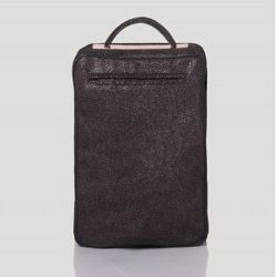 """<a href=""""http://www.rachelcomey.com/womens-store/accessories/rally-bag.html?color=Black"""">Rally bag</a>, $550"""