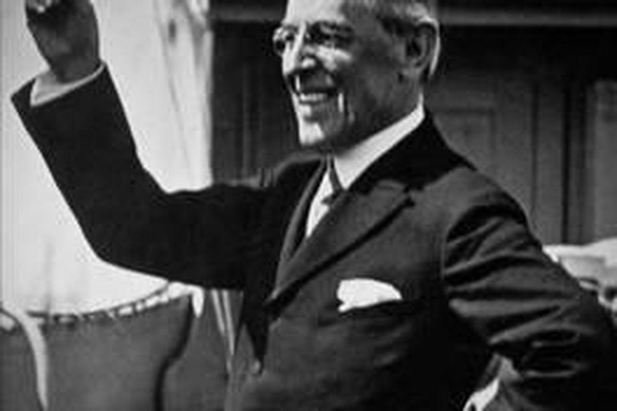 """Wilson"" is a biography of U.S. President Woodrow Wilson by A. Scott Berg."