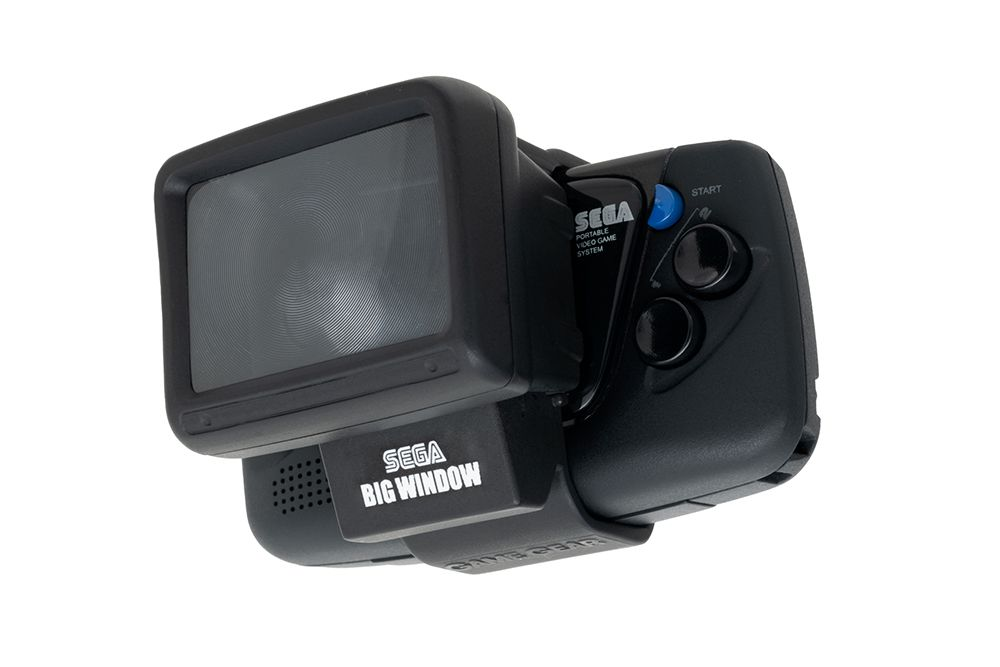 The Big Window Micro magnifying glass accessory for the Sega Game Gear Micro