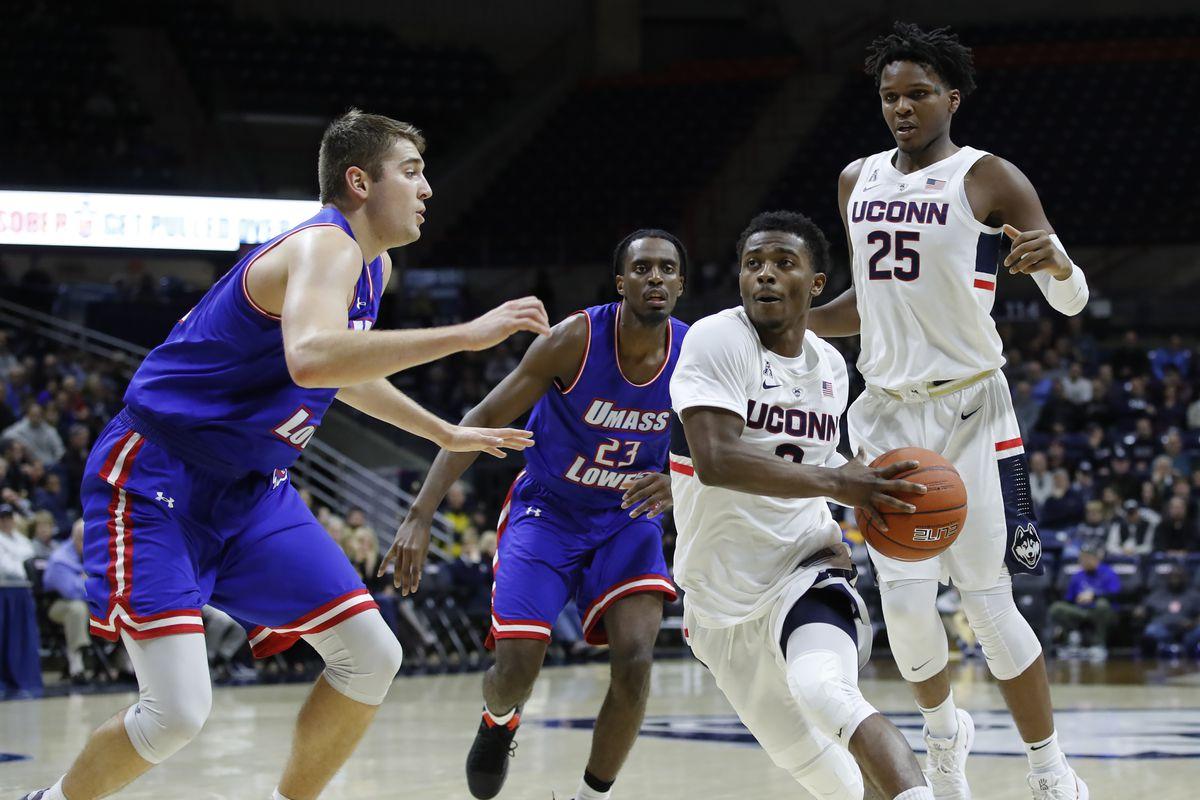NCAA Basketball: Massachusetts Lowell at Connecticut