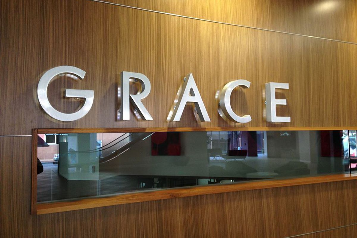 Grace in downtown Fort Worth.