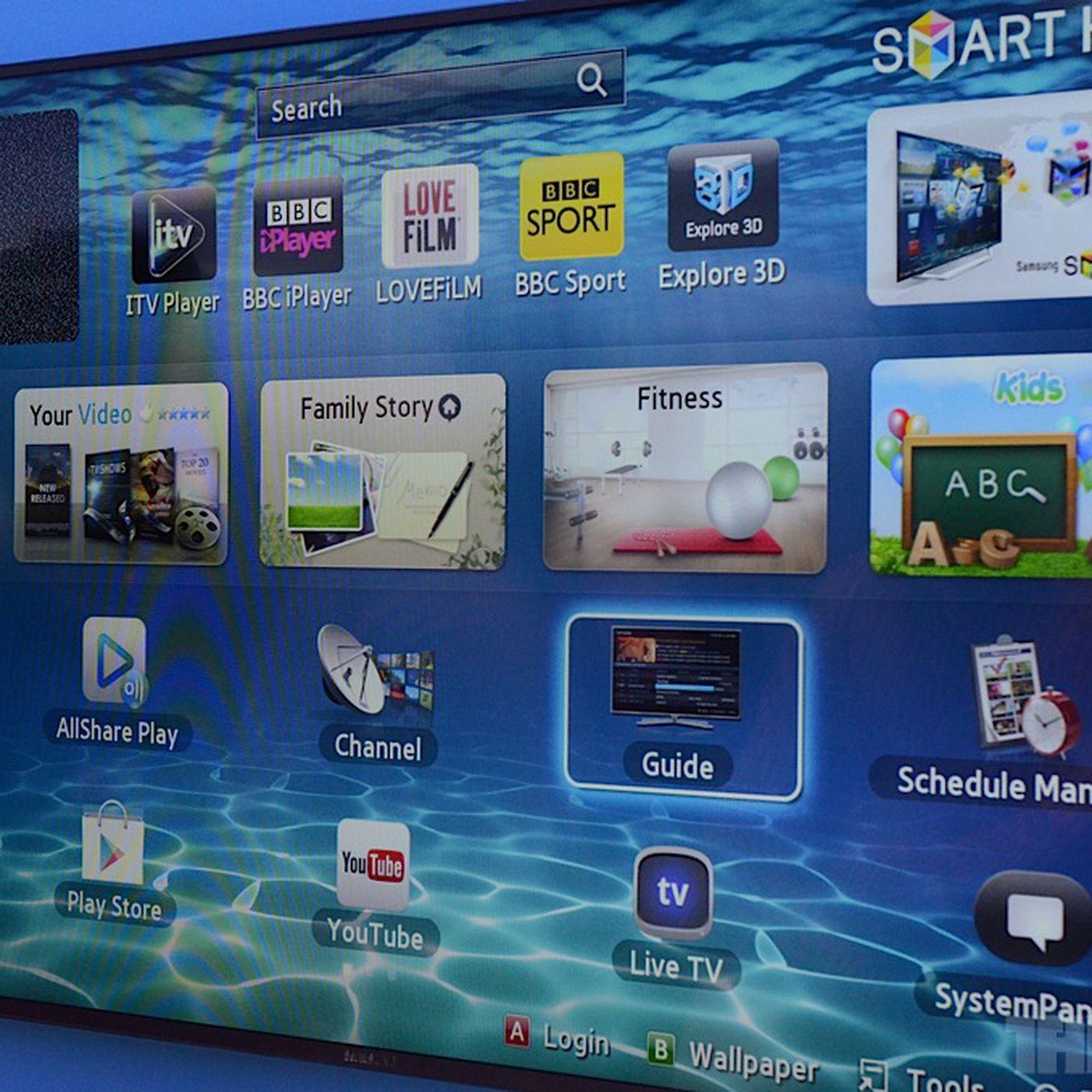 download google chrome app for samsung smart tv
