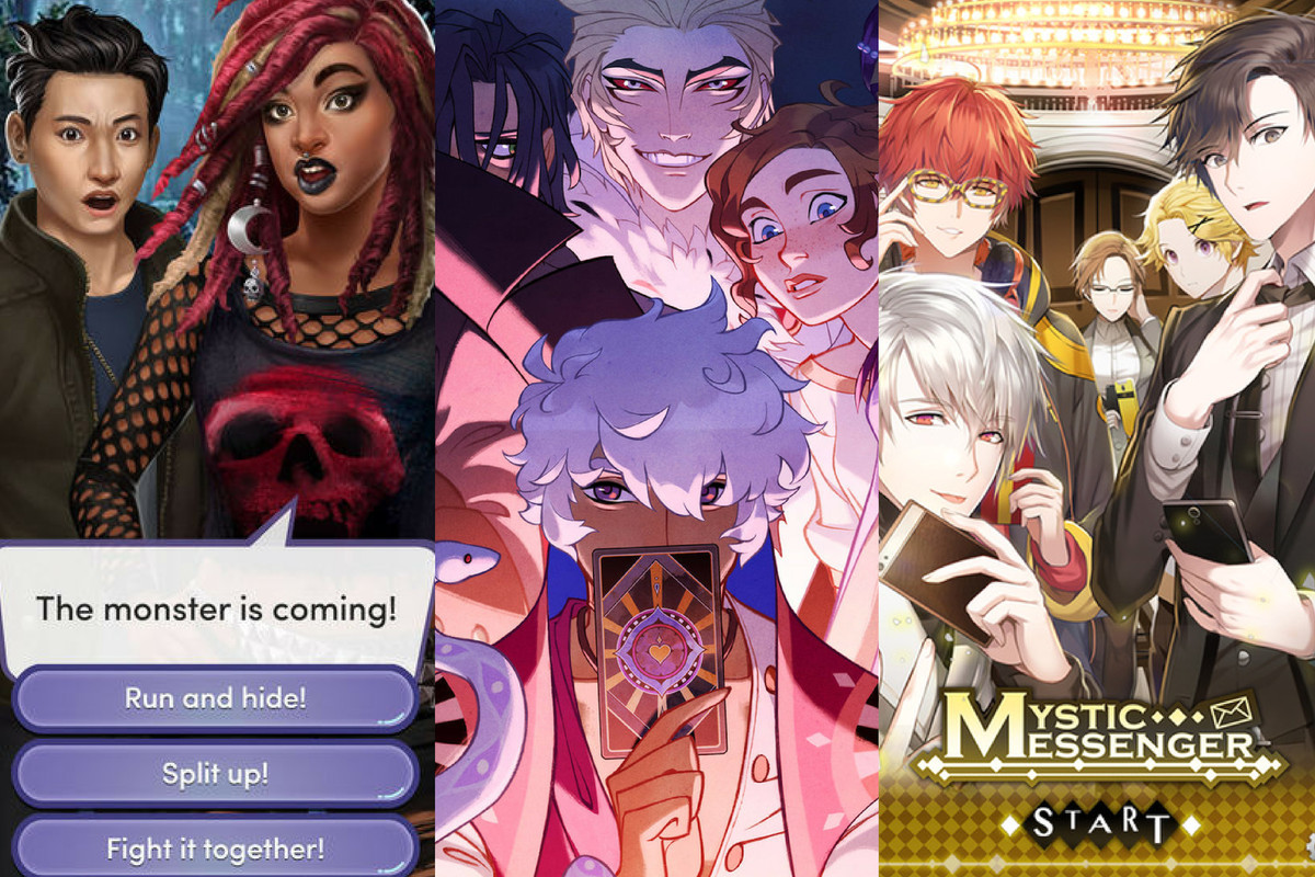 The mobile visual novels blowing up across Tumblr - Polygon