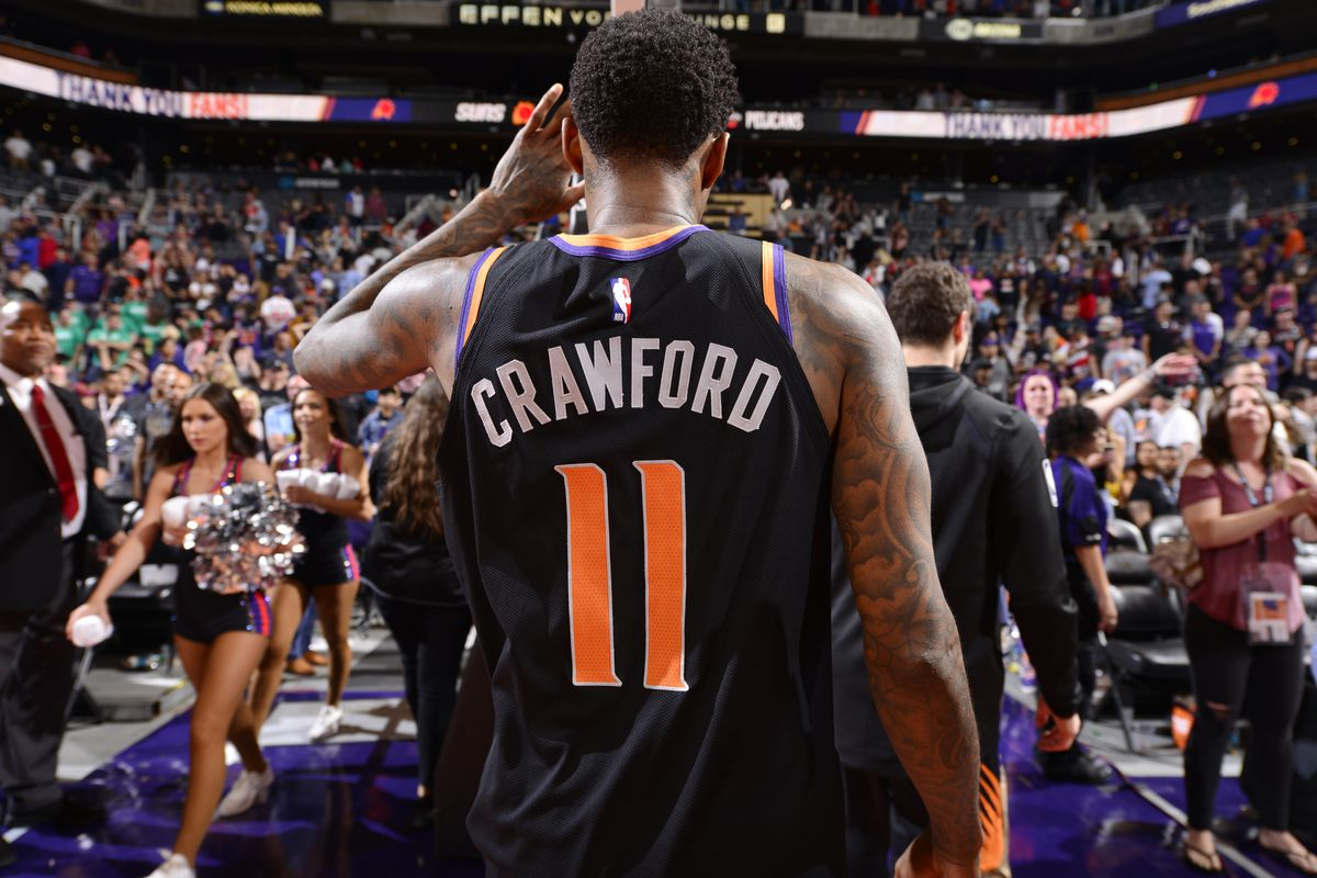 Is this it for Jamal Crawford after a year with the Phoenix Suns?