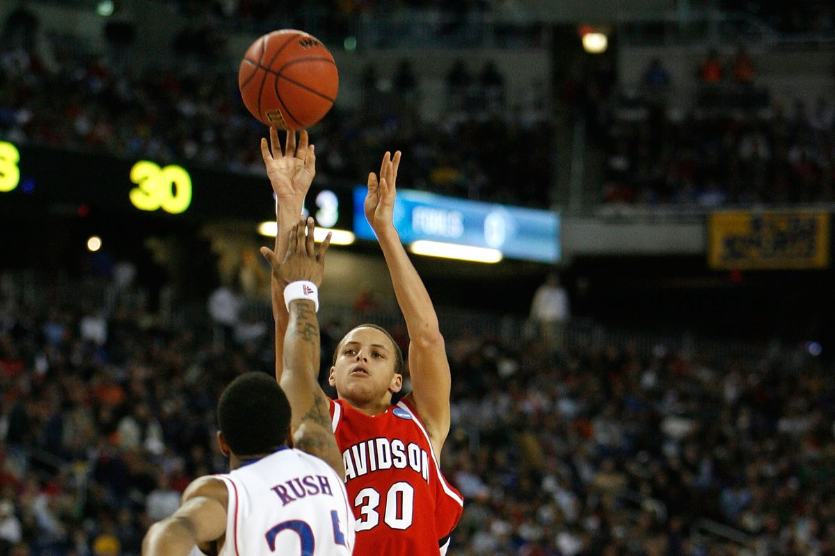 4df01902d746 Steph Curry vs the Jayhawks  The Time the Warrior Went the Distance with  the Champs