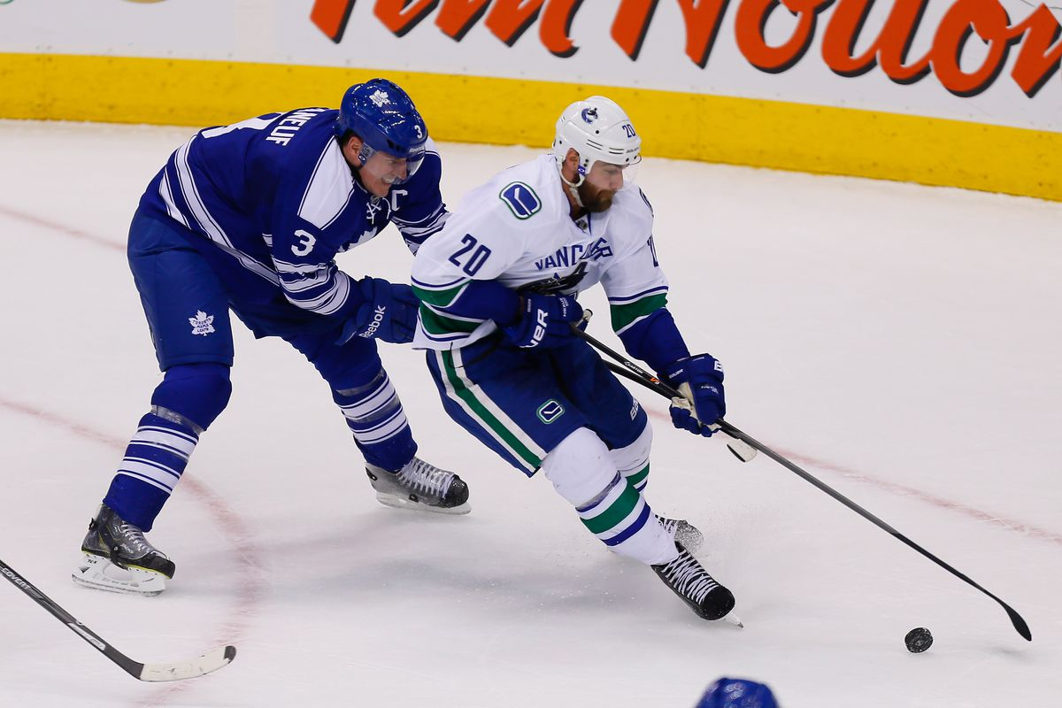 The Higgs at work against Phaneuf.