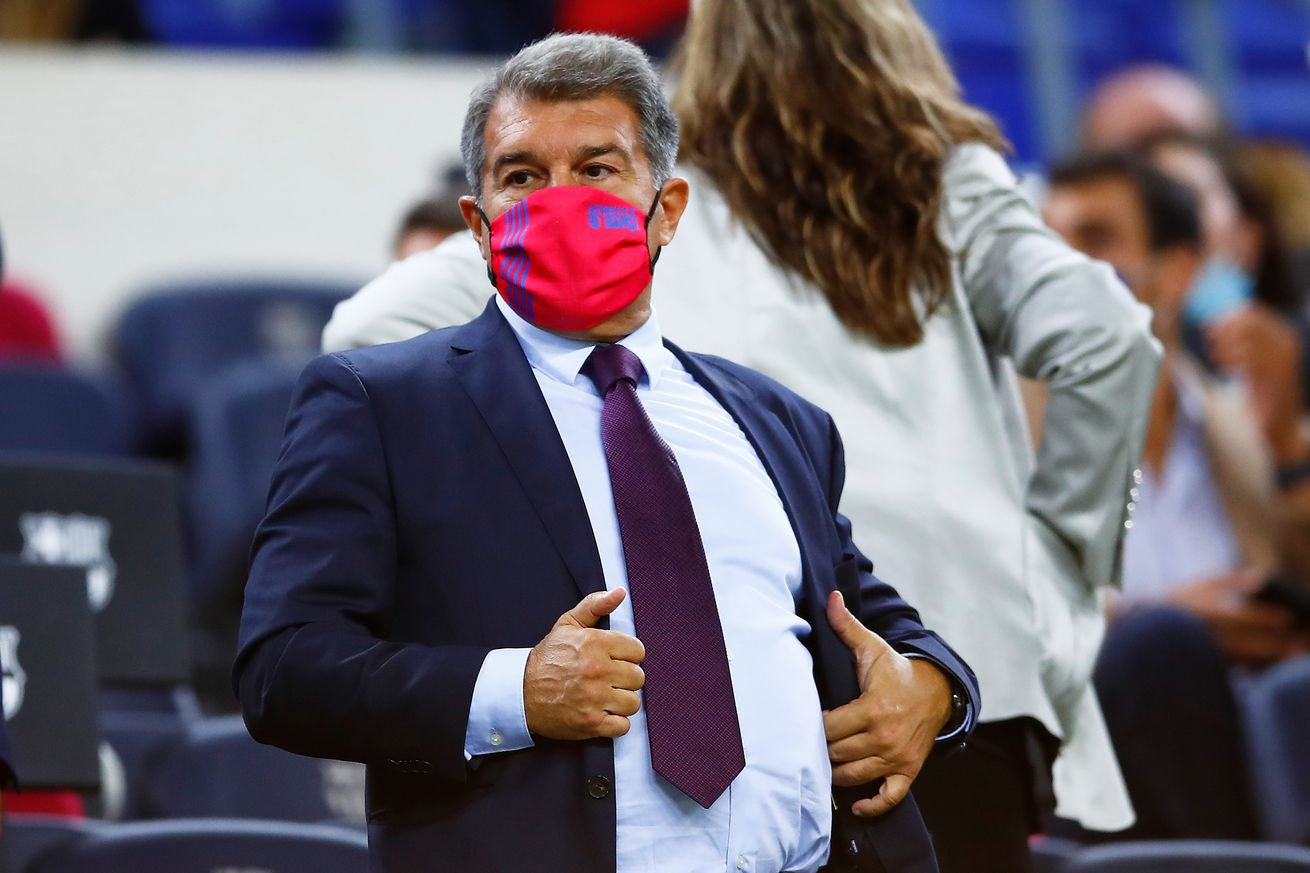 Joan Laporta sends another message to Barca fans