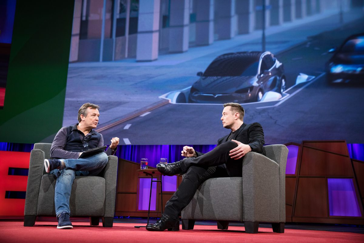 Chris Anderson interviews Elon Musk at TED2017 - The Future You, April 24-28, 2017, Vancouver, BC, Canada