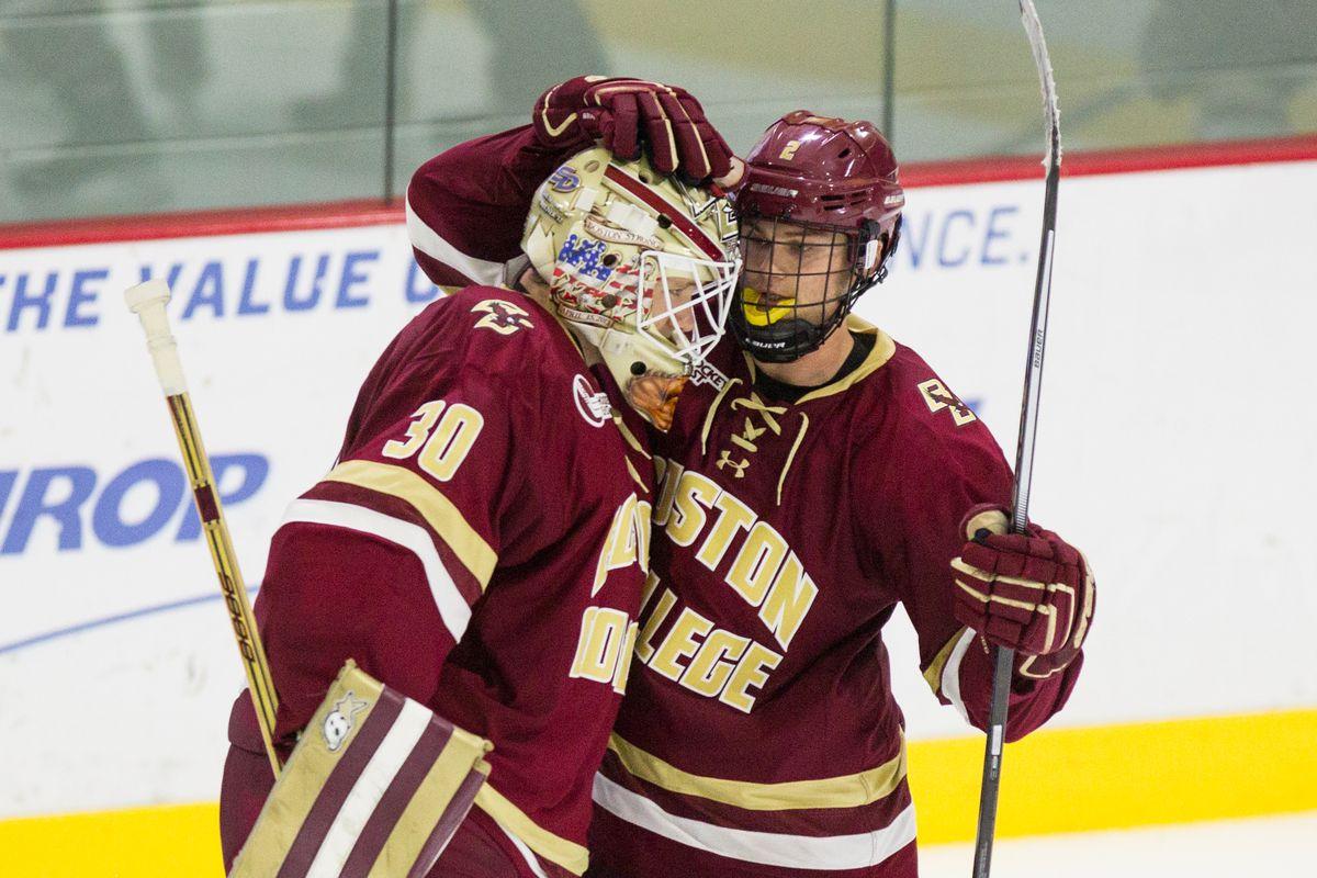 Boston College Hockey vs. Boston University: Game Thread (6:00 PM, NESN+/American Sports Network ...
