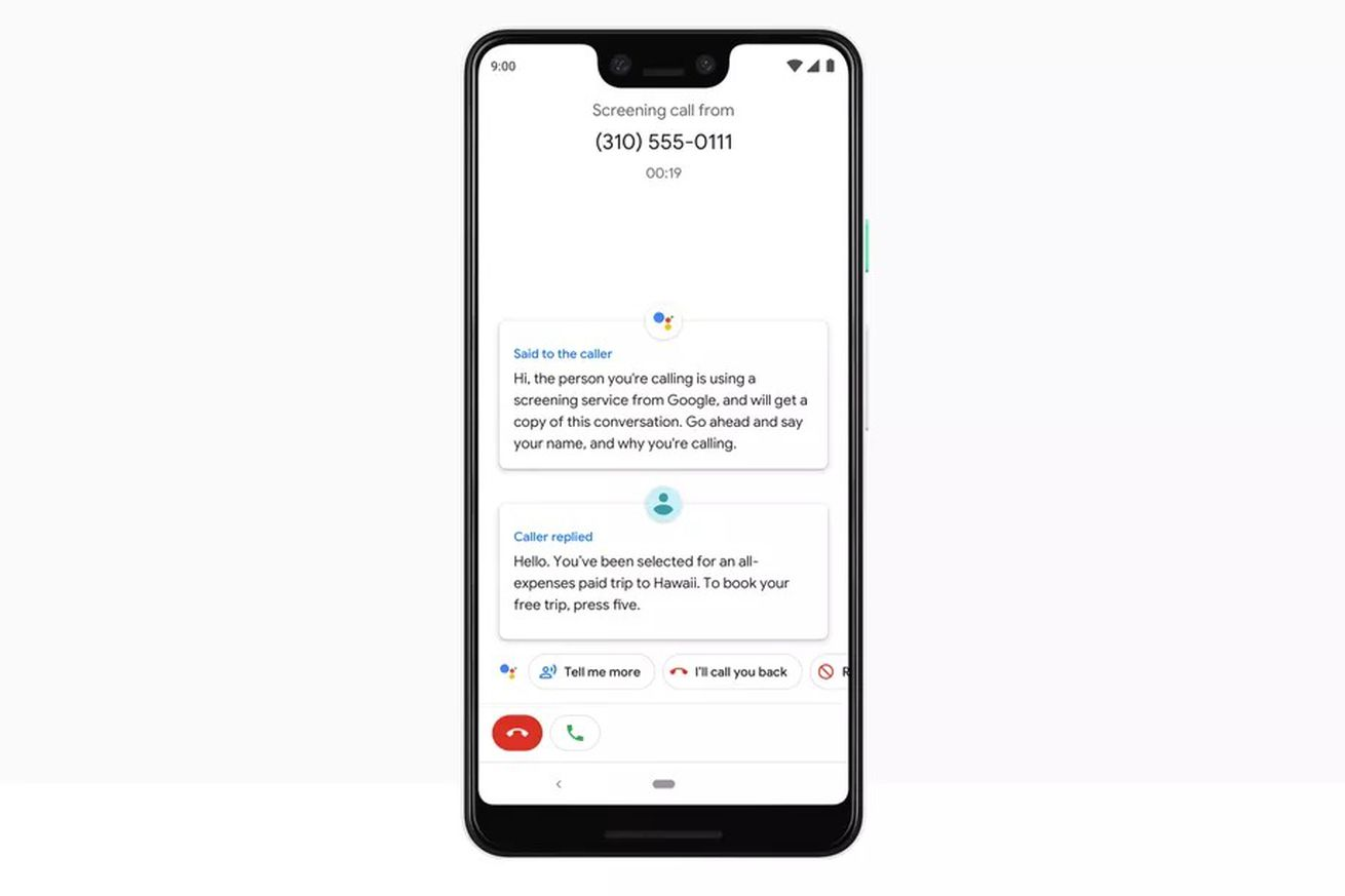 google pixels will get transcription support for call screenings before the end of the year