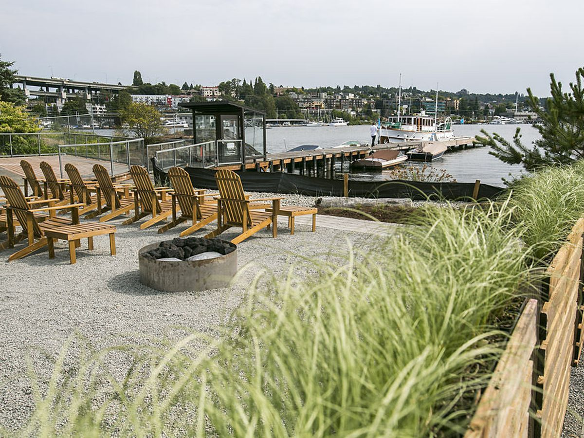 The view of Lake Union from Westward.