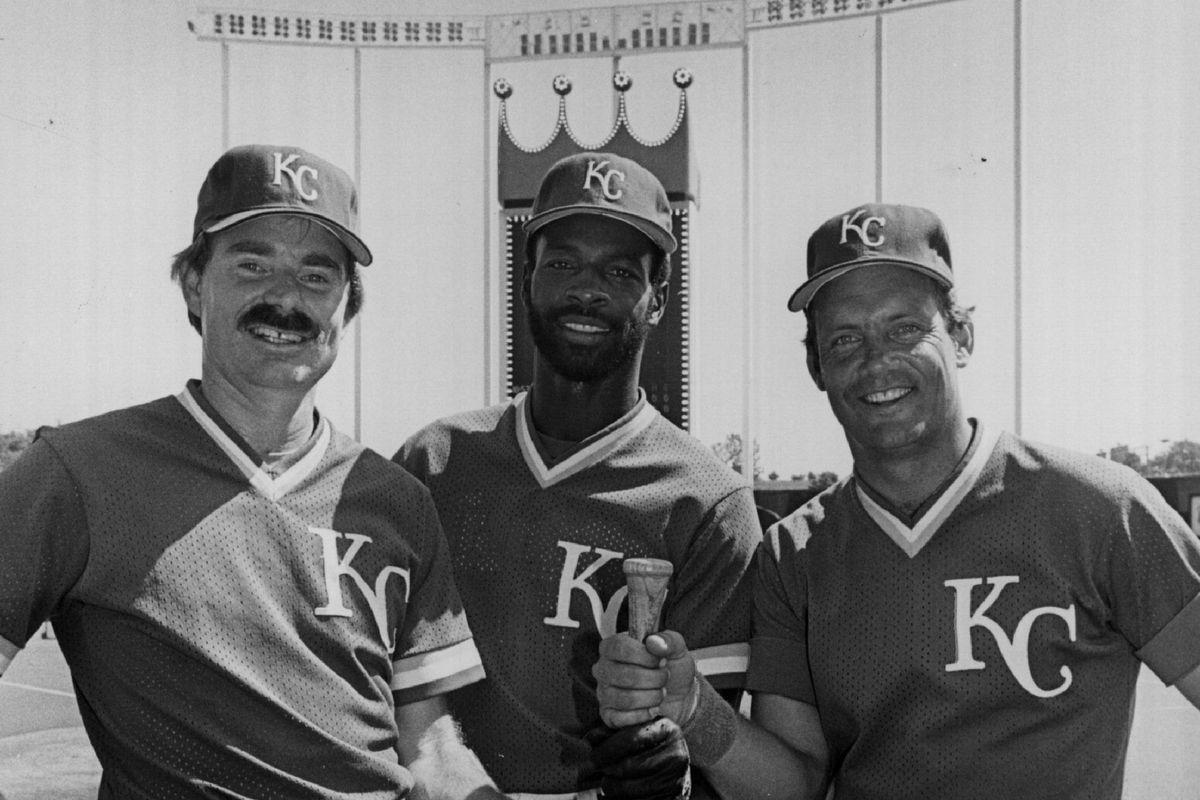Willie Wilson of the Kansas City Royals...