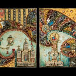 """Heather Campbell's """"Tripp'in Spain"""" will be featured in the Springville Museum of Art's """"32nd Annual Spiritual and Religious Art of Utah"""" show."""
