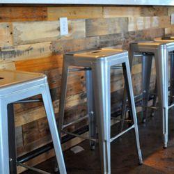 Bar stools at Eat.